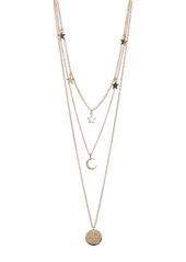 Area Constellation Layered Necklace Set