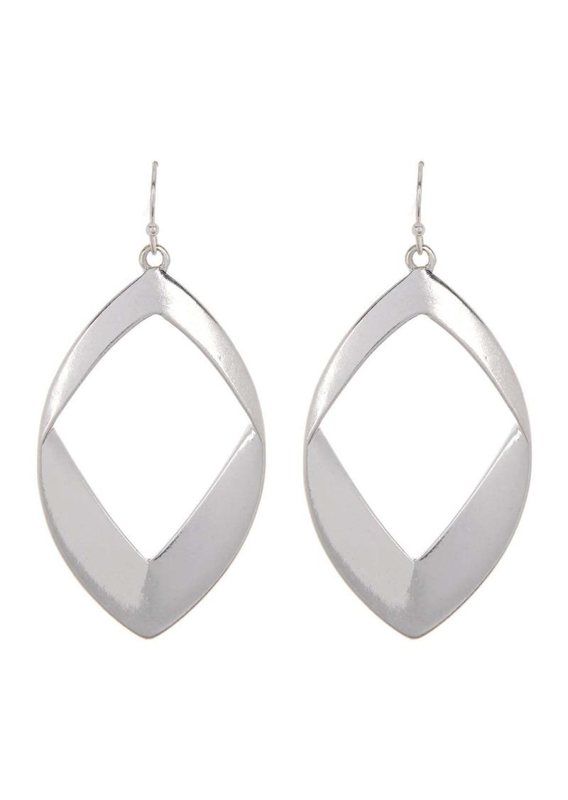 Area Diamond Drop Earrings