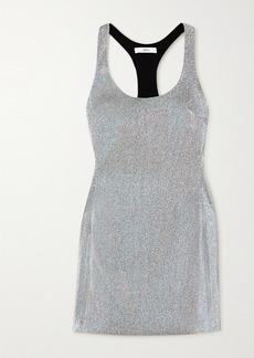 Area Lame Mini Dress