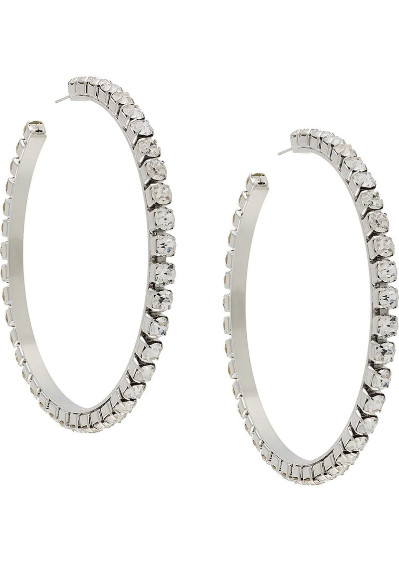 Area large classic round hoops