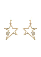 Area Mini Star Crystal Bling Earrings