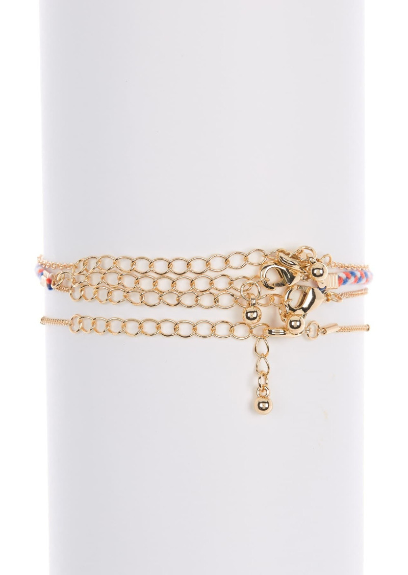 Area Multi Charm Bracelet Set