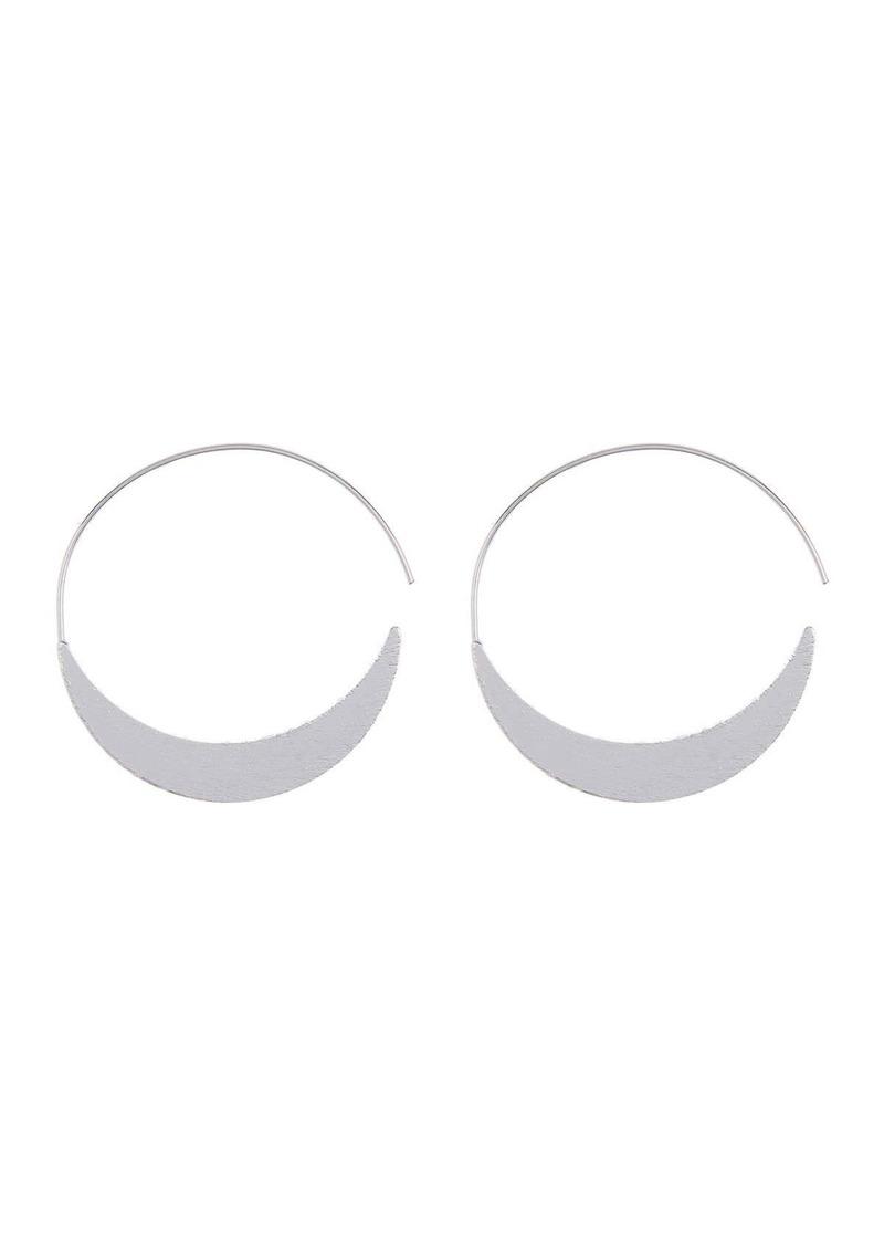 Area Oval Swirl Earrings