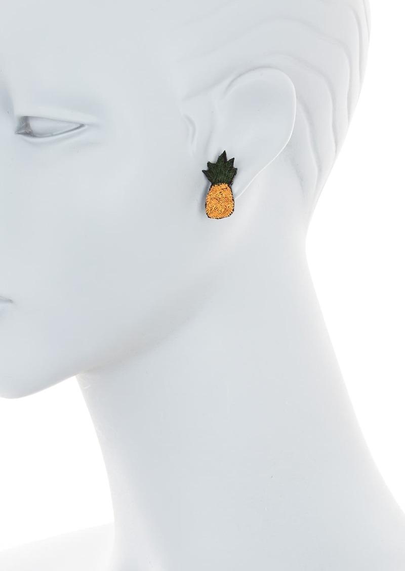 Area Pineapple Mini Stud Earrings