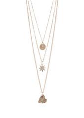 Area Symbols Layered Necklace Set