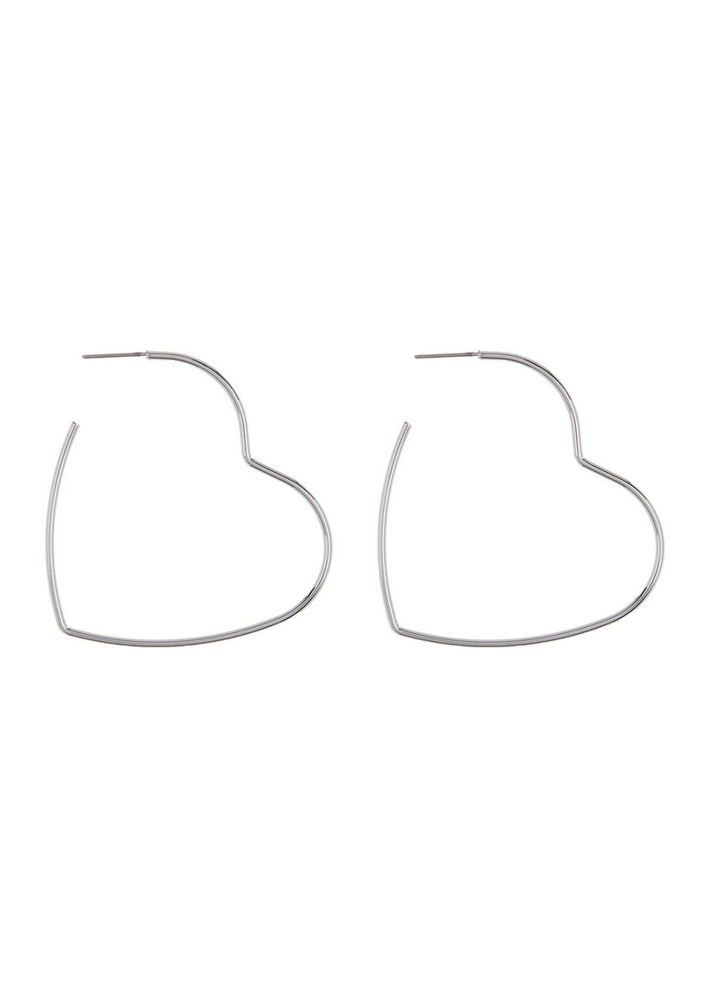 Area Thin Star Earrings