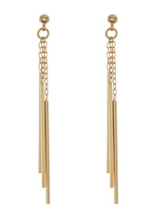 Area Three Stick Drop Earrings