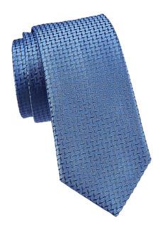 Armani Solid Silk Tie