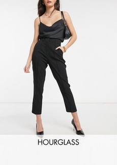 ASOS DESIGN Hourglass mix & match ultimate ankle grazer suit pants in black