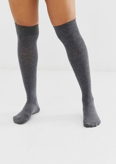 ASOS DESIGN over the knee socks