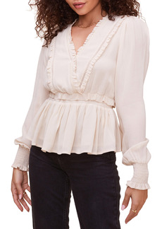 ASTR the Label Avril Peplum Blouse