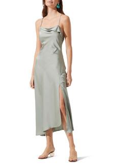 ASTR the Label Cowl Slip Midi Dress