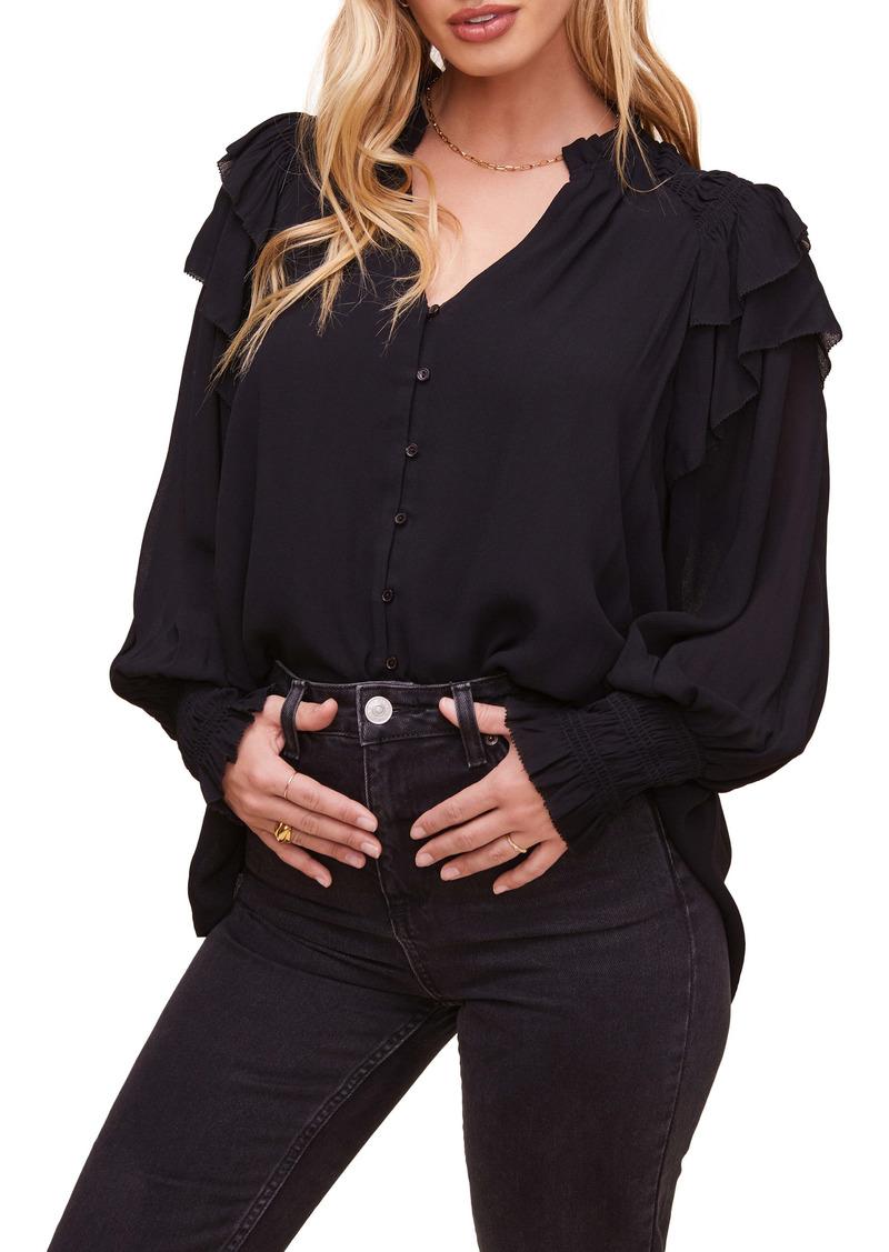 ASTR the Label Rashida Long Sleeve Blouse