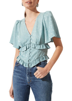 ASTR the Label Ruffle Top