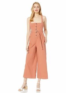 ASTR the label Women's Warwick Sleeveless Wideleg Casual Jumpsuit  L