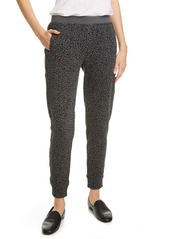 ATM Anthony Thomas Melillo Animal Print French Terry Jogger Pants
