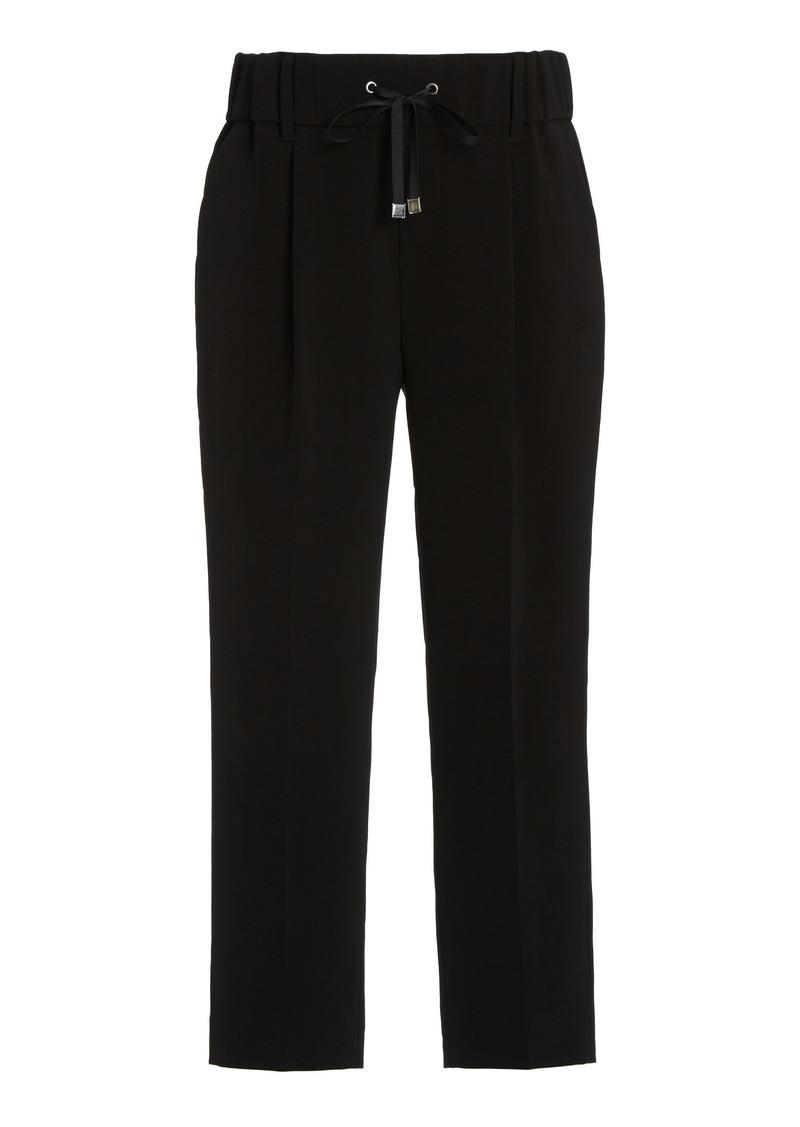 ATM Anthony Thomas Melillo - Women's Stretch-Twill Straight-Leg Pants - Black - Moda Operandi