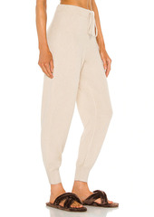ATM Anthony Thomas Melillo Cashmere Silk Pull On Pant