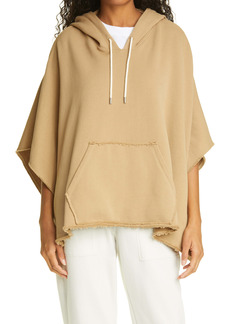 ATM Anthony Thomas Melillo Hooded Poncho Sweatshirt