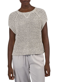 ATM Anthony Thomas Melillo Short Sleeve Raglan Sweater