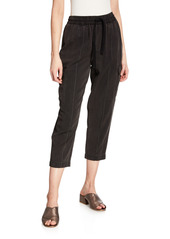 ATM Anthony Thomas Melillo Cropped Pull-On Cargo Pants
