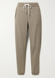 ATM Anthony Thomas Melillo French Cotton-terry Track Pants