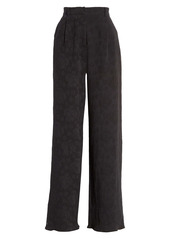 ATM Anthony Thomas Melillo High Waist Pleat Front Flare Pants