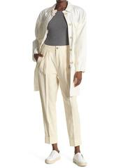 ATM Anthony Thomas Melillo Linen Blend Tailored Pants
