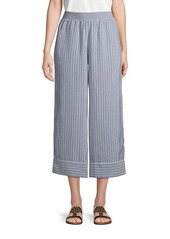 ATM Anthony Thomas Melillo Linen Stripe Pants