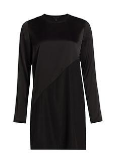 ATM Anthony Thomas Melillo Stretch Silk Mini Dress