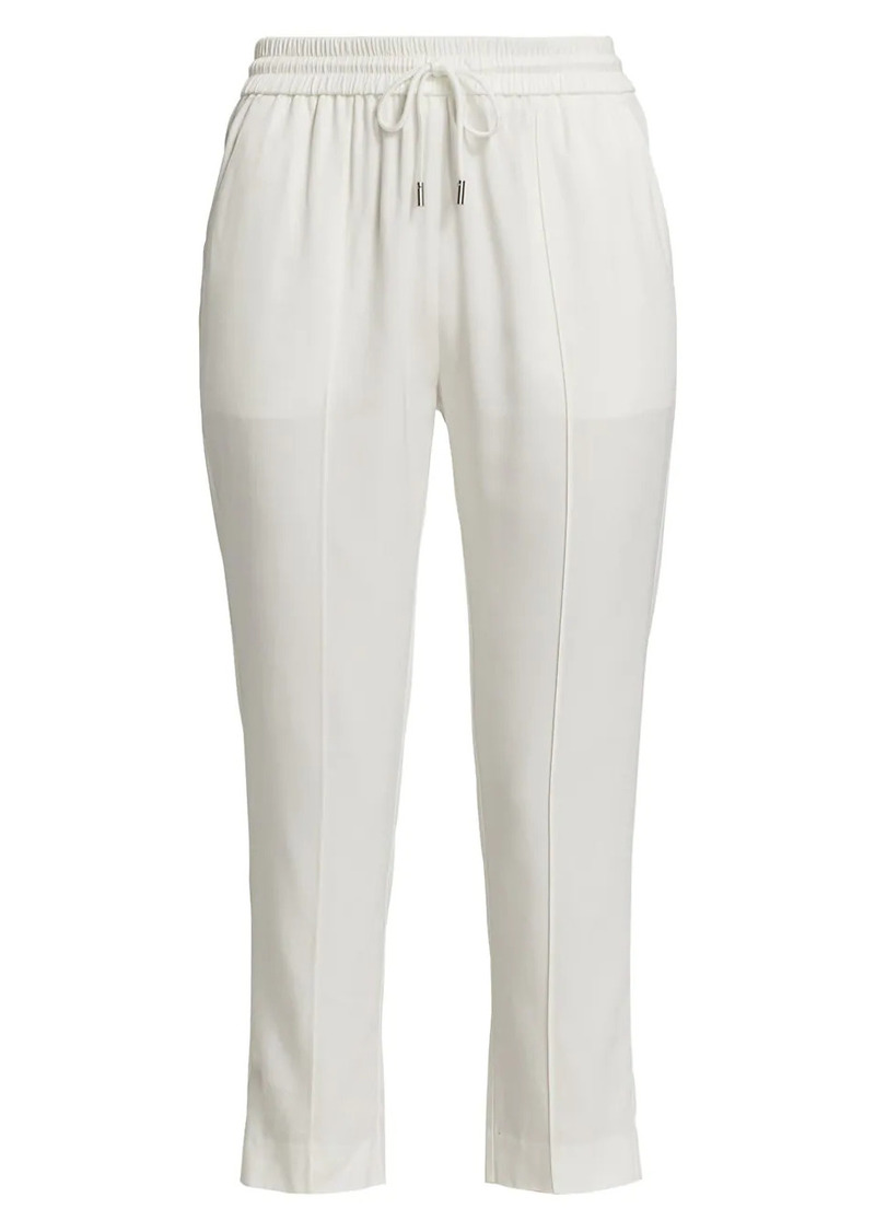 ATM Anthony Thomas Melillo Twill Cropped Pull On Pants