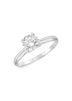 Badgley Mischka 14K White Gold & 2 TCW Lab-Grown Diamond Solitaire Engagement Ring/Size 7