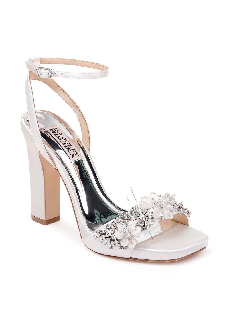 Badgley Mischka Collection Alexa Ankle Strap Sandal (Women)