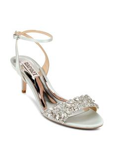 Badgley Mischka Richelle Embellished Ankle Strap Sandal (Women)