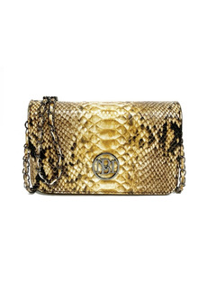 Badgley Mischka Women's Square Leopard Chain Mini Everyday Bag