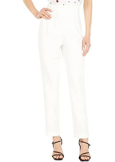 Badgley Mischka Crepe Slim Pants