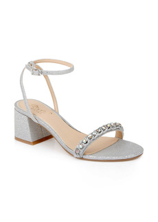 Jewel Badgley Mischka Odonna Block Heel Sandal (Women)