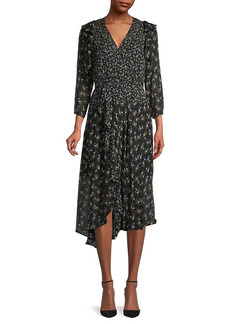 Bailey 44 Botanical-Print Ruffled Dress