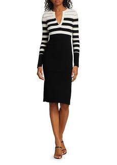 Bailey 44 Candice Striped Knit Dress