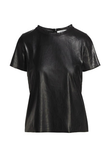 Bailey 44 Haven Faux Leather Top
