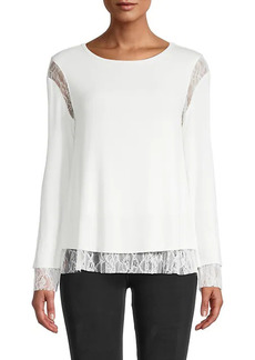 Bailey 44 Isabel Lace Top