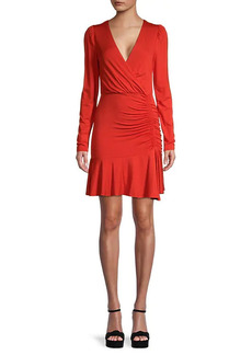 Bailey 44 Leonora Ruched Wrap Dress