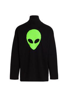 Balenciaga Alien Highneck Sweater