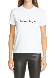 Balenciaga Copyright Logo Graphic Tee