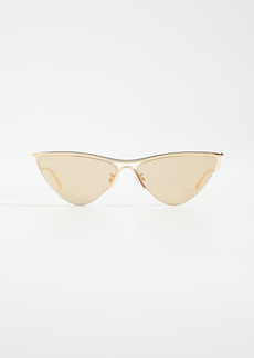 Balenciaga Curve Narrow Cat Eye Sunglasses