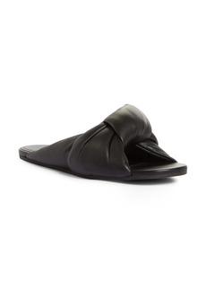 Balenciaga Drapy Slide Sandal (Women)