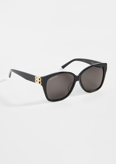 Balenciaga Dynasty Square Sunglasses