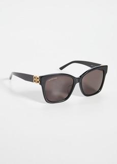 Balenciaga Dynasty Vintage Square Sunglasses