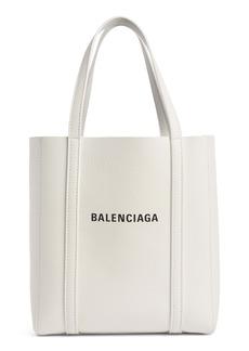 Balenciaga Extra Small Everyday Logo Leather Tote