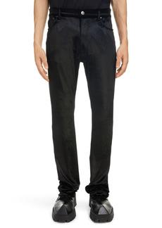 Balenciaga Five-Pocket Velvet Pants